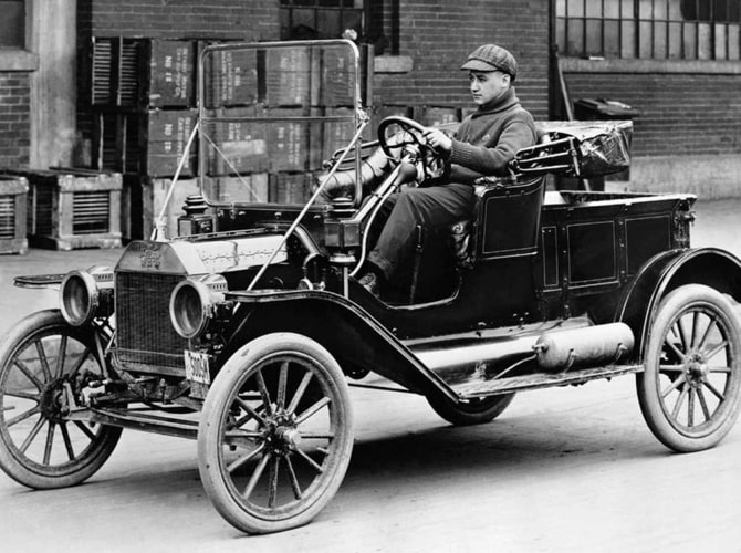 Henry Ford; Father of Lean Manufacturing_ElsaM