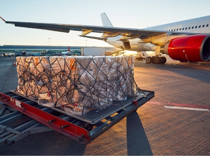 How COVID-19 Affected Airfreight Levels